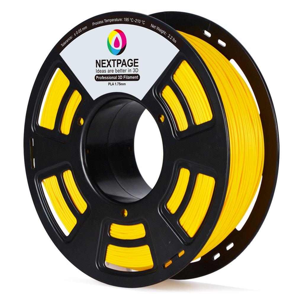 Nextpage Rollo Filamento de PLA 1.75 mm 1 kg para la impresora 3D ...
