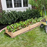 YAHEETECH Raised Garden Bed Kit - Wooden Elevated