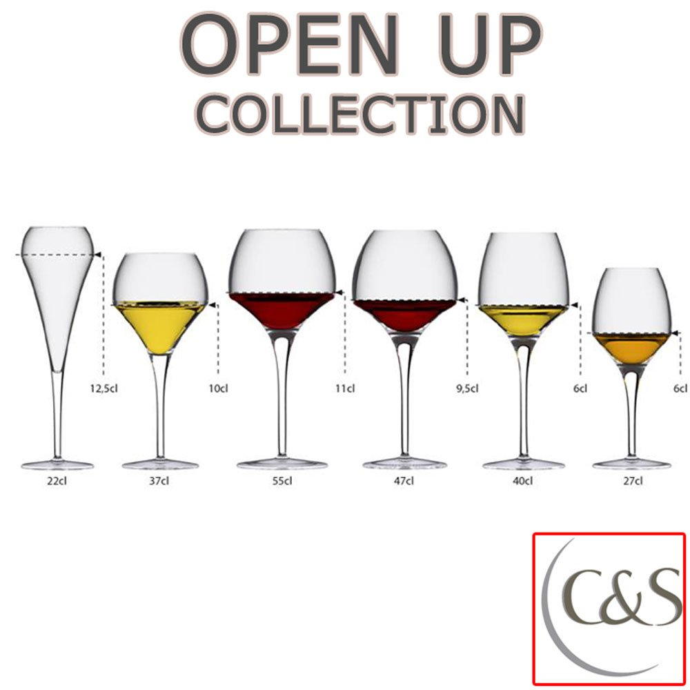 piel sint/ética 6/Verres a vin Universal Tasting 40/cl Chef /& Sommelier Open Up