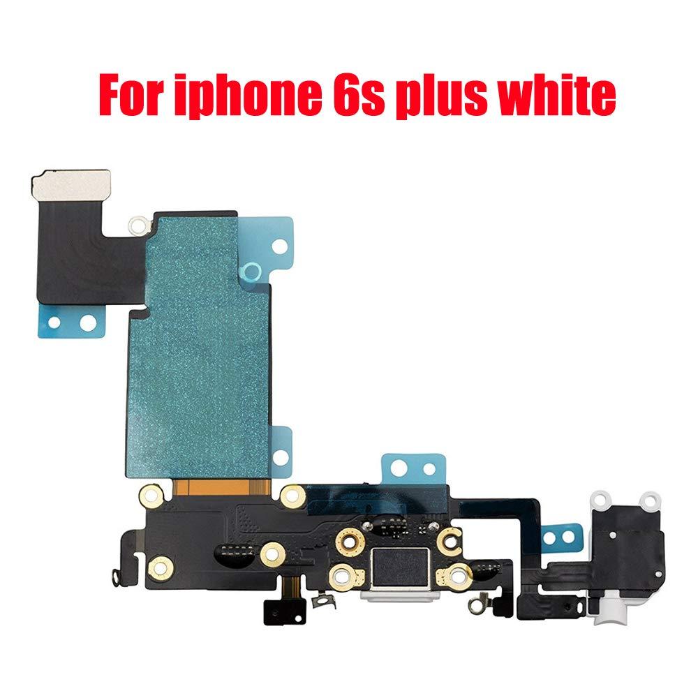 Puerto de Carga para iPhone 6S Plus 5.5 White para Silver Go