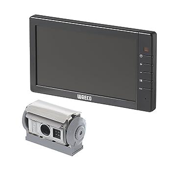 Waeco rvs780 Sistema de cámara de Marcha atrás (M7l/cam80 cm) Plata/