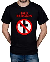 Official Bad Religion Cross Buster Unisex T-shirt No Control