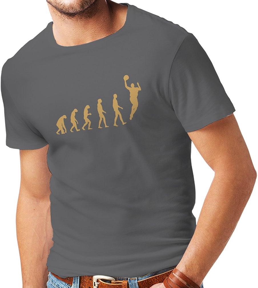 Camisetas Hombre evolución de Baloncesto - Canasta de la Calle, me Encanta Este Juego, Gran Fan de Regalo