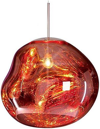 Hlidpu Modern Magic Lava Pendant Lights Melt Glass Transparent Pendant Lamp Classic Originality Hanglamp