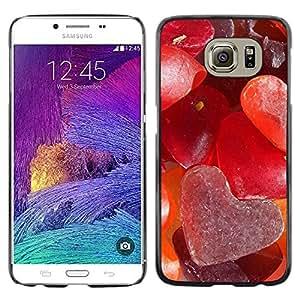 iKiki Tech / Estuche rígido - Love Sugar Heart - Samsung Galaxy S6 SM-G920