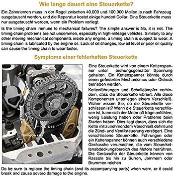 Steuerkettensatz steuerkette f/ür i20 i30 Cee/´d 1.4 1.6