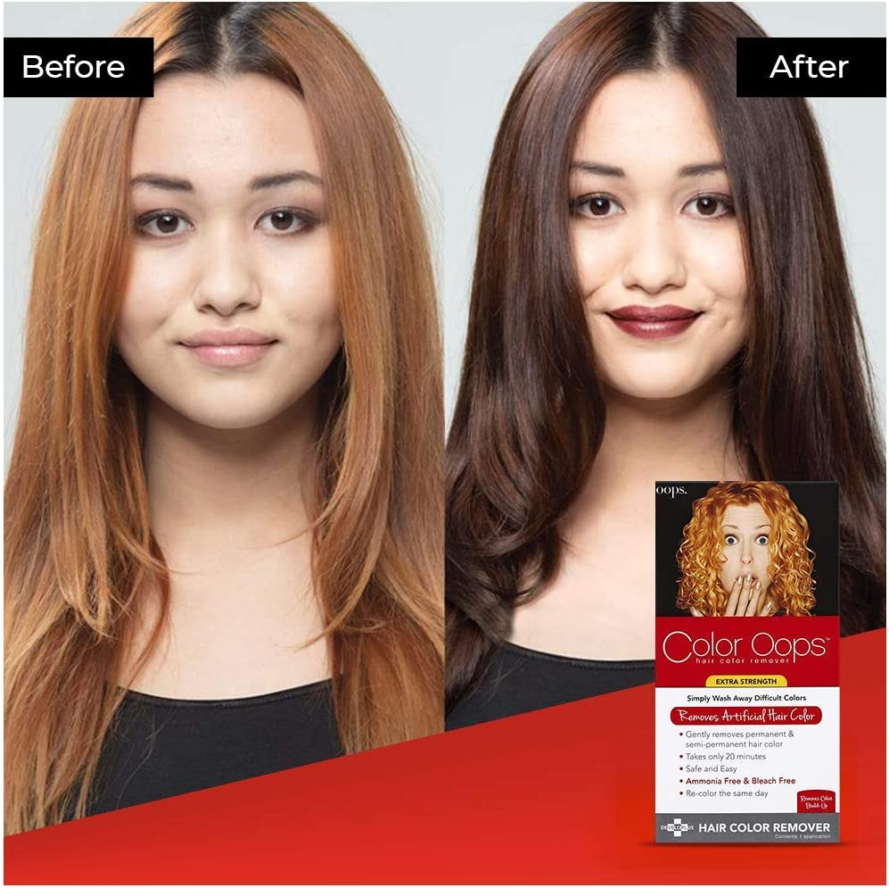 Color Oops Hair Color Remover, Extra Strength 1 Application by DEVELOPLUS