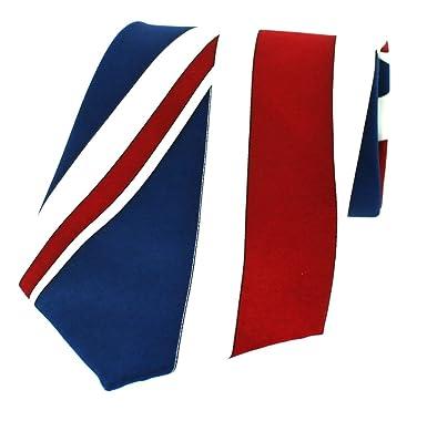Corbata de seda Soprano con diseño de la bandera del Reino Unido ...