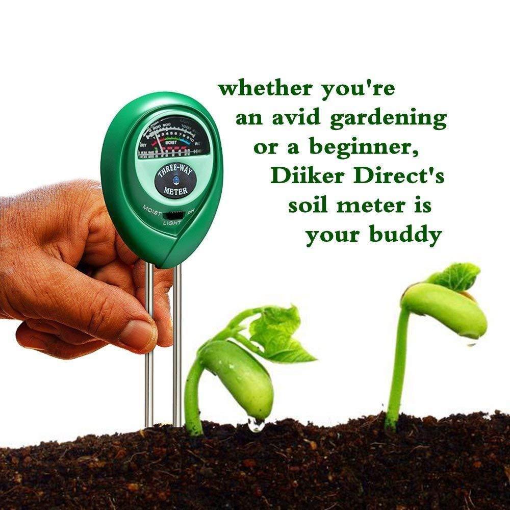 pelouse SENRISE PH mètre de sol kit de test de sol pour jardin kit