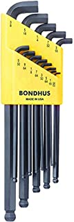 product image for Bondhus 16537 Set of 13 Balldriver Stubby L-wrenches, sizes .050-3/8-Inch