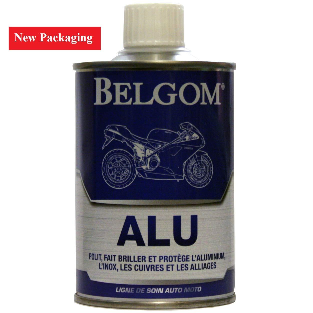Belgom Alu Aluminium Alloy Polish for Motorcycles/Cars plus Free Polishing Cloth - 250ml bottle