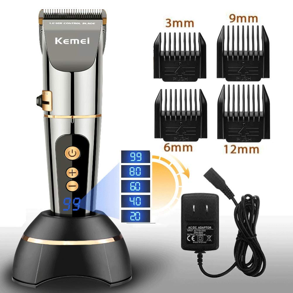 Hair Trimmer Hair Shave Clipper Pro II Rechargeable Cordless Grooming Men