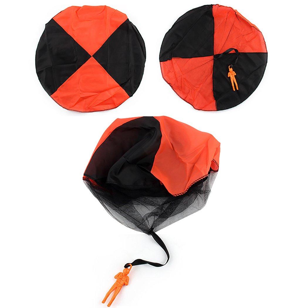 Juguete Al Joyibay 4 Paracaidista Lanzando Libre Piezas Aire BoWCxdre
