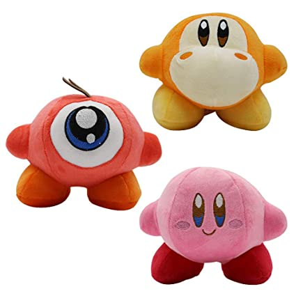 YODE Kirby Waddle Dee & Waddle Doo Plush Stuffed Animal Soft Toys for Children Birthday 3Pcs