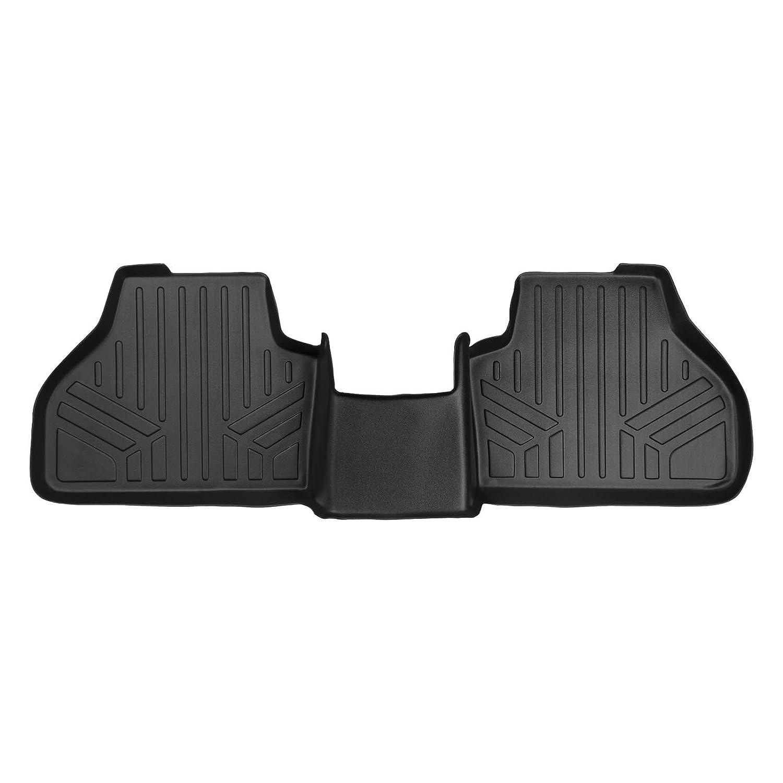Second Row MAX LINER B0262 MAXFLOORMAT Floor Mats for BMW X3 2011-2017 Black