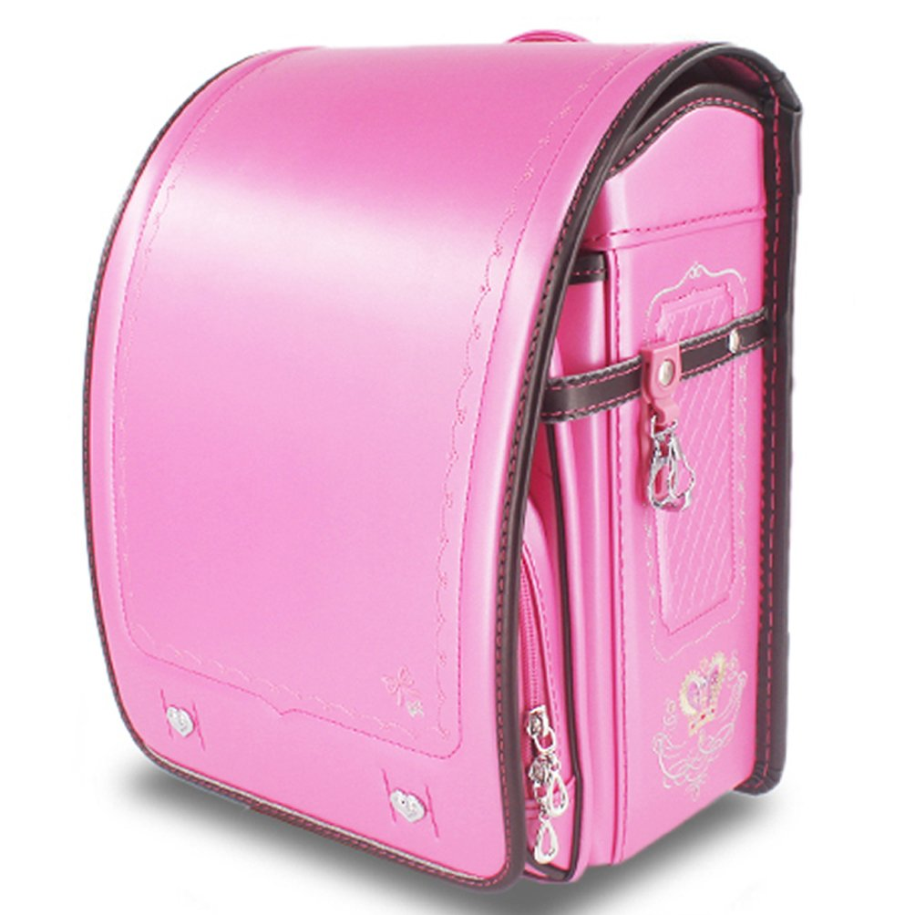 Ransel Randoseru upscale princess pearlized Japanese school bags for girls and boys Pink