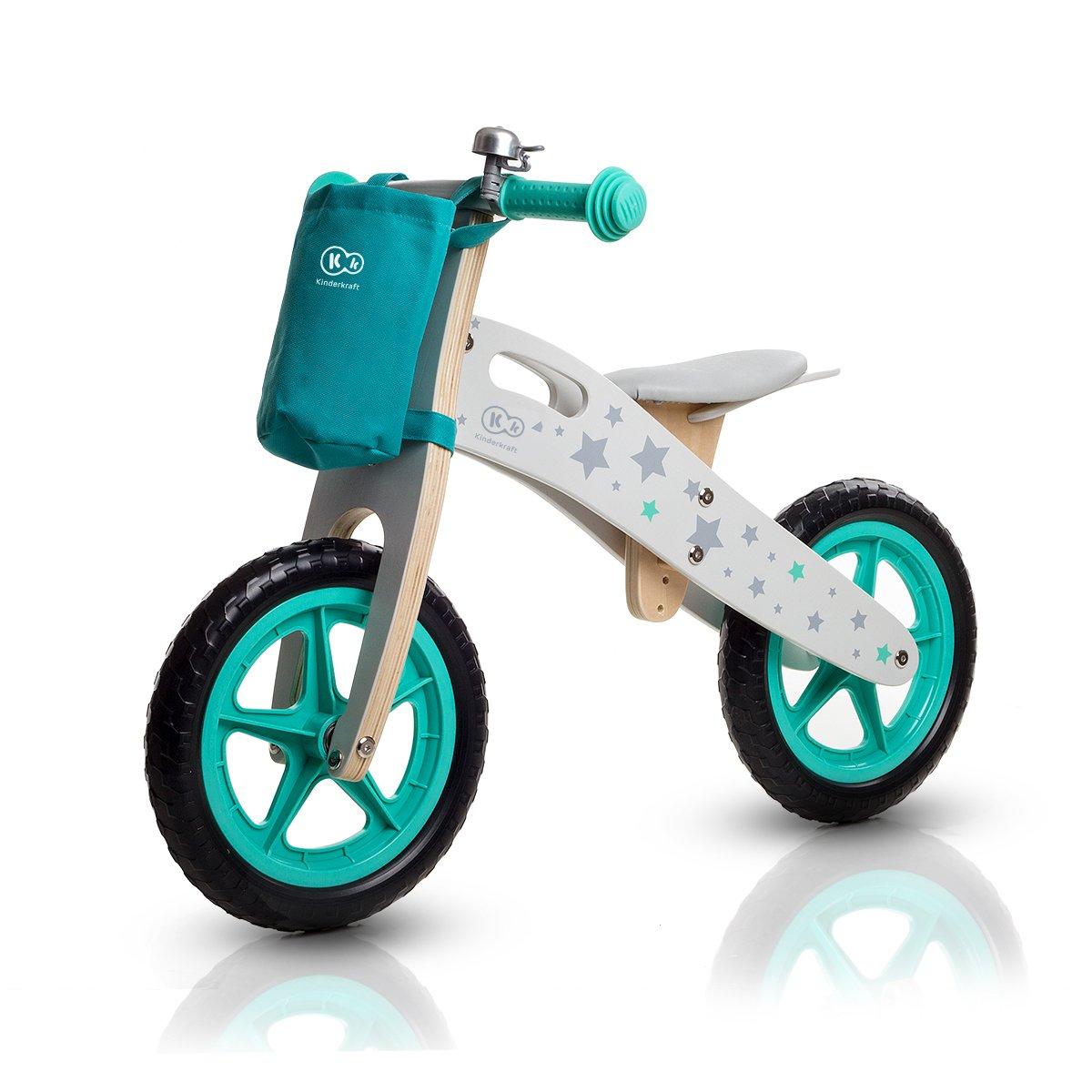 Draisienne Runner Stars vélo Vert en Bois sans pédales écologique Apprentissage product image
