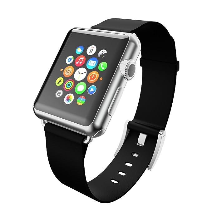 best website 5a805 d7a17 Amazon.com: Incipio Apple Watch 38mm Premium Leather Watchband ...