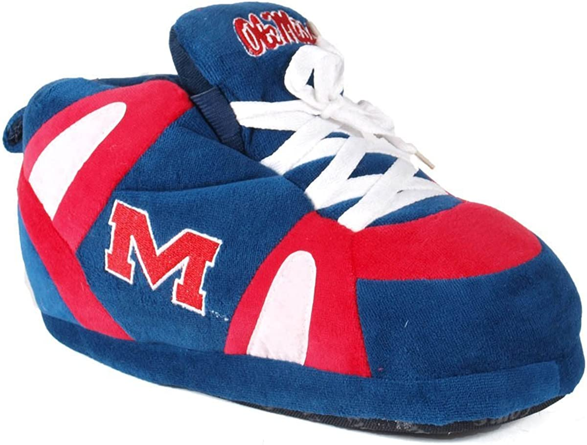 Comfy Feet Mens and Womens Officially Licensed NCAA College Sneaker Slippers