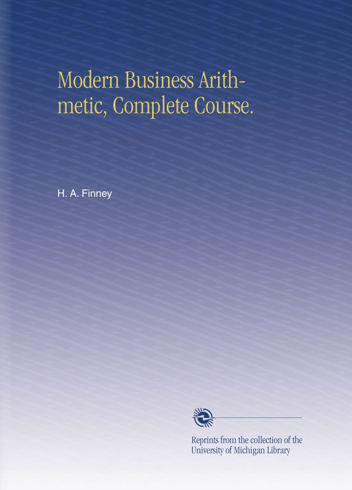 Modern Business Arithmetic, Complete Course  Pdf | Pyrrol