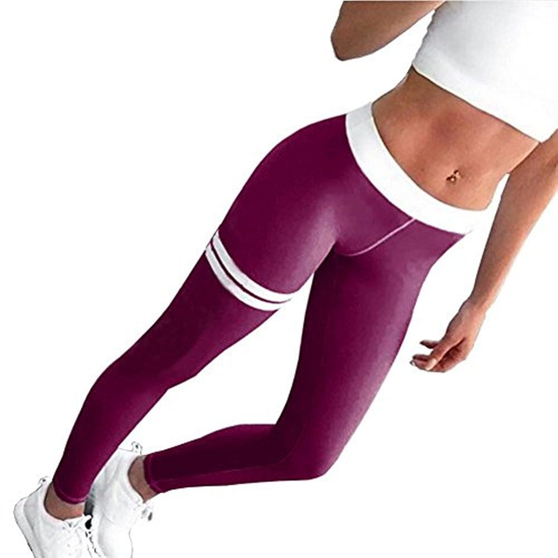 Damen Leggings Camouflage Trainingsanzug Sporthose Push-Up Fitness Treggings Neu