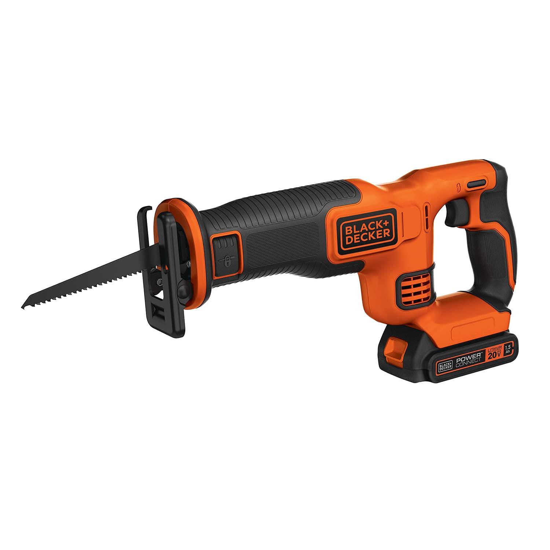 BLACK+DECKER 20V MAX Cordless Reciprocating Saw Kit (BDCR20C)