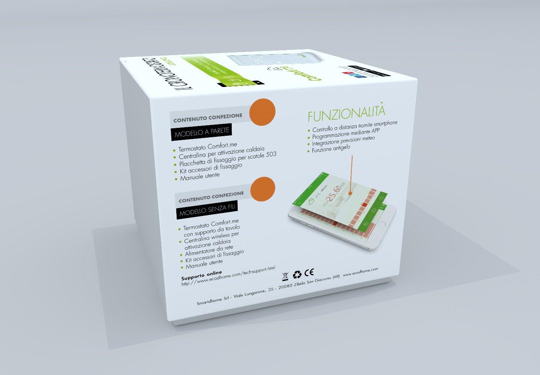 Me Termostato WiFi inteligente para Smartphone - Modelo inalámbrico sin hilos: Amazon.es: Hogar