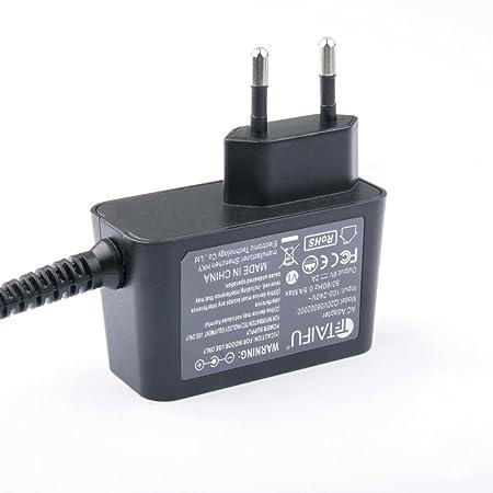 TAIFU Universal Cargador 6V 2A para Sony XDR-S40DBP XDR-S55 XDRS55 XDR-S10 DAB Radio,Omron M3 M2 M6 M7 M10-IT Tensiómetro monitor,Omron HEM-741,HEM-746 ...