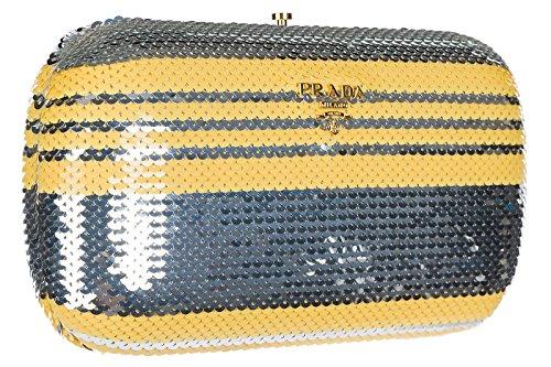 sac femme femme pochette sac jaune jaune Prada Prada pochette wBROXFxqt