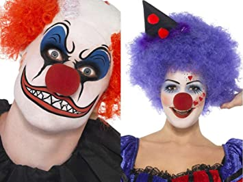 Set maquillage clown mechant/gentil