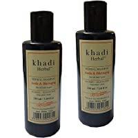 Khadi Herbal Amla and Bhringraj Shampoo - Pack of 2