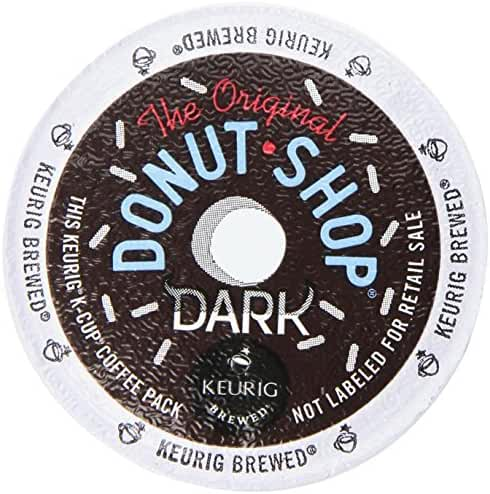 The Original Donut Shop Coffee, Dark, 4.6 Ounce (Pack of 6)