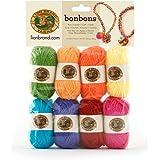 Lion Brand Yarn Lion Brand Bonbons 680 Crayons