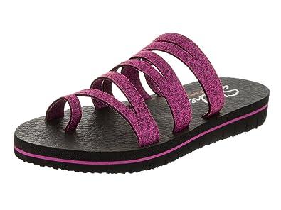 a35a11ba366e Image Unavailable. Image not available for. Color  Skechers Women s Zenflex-Camp  Zen Sandal Raspberry ...