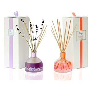 Manu Home Calm Lavender Reed Diffuser Set