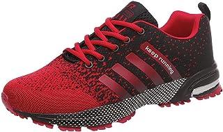 Femmes Hommes Sport Chaussures De Course Respirant lacé Athlétique Fitness Flats Sneakers Marche Jogging Gym Trainers 38-46 CHM082101