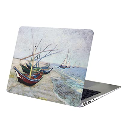 on sale 4833b 8ea07 MacBook Pro 13 Case 2016 2017 2018, YMIX Plastic Mac Cover Matte Rubberized  Protective Case for 2016 2017 2018 MacBook Pro 13 (A1706 A1708 A1989) ...