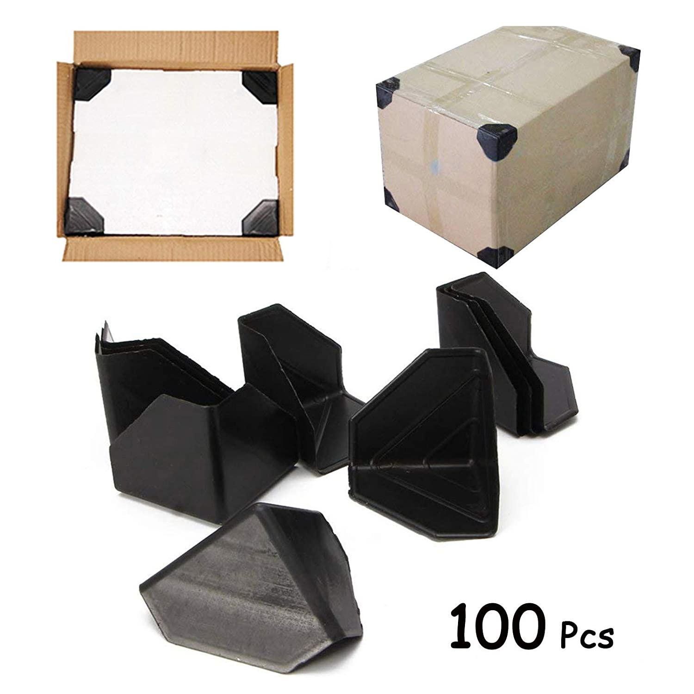 Borde de cart/ón y protecci/ón de esquinas Particularmente adecuado para En movimiento Ruesious 100 Pcs Esquina de pl/ástico