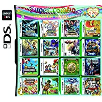 208 Games in 1 DS Game Pack Card Compilations Video Game DS Cartridge Card for DS NDS NDSL NDSi 3DS 2DS XL