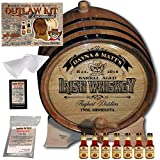 Personalized Outlaw Kit (Irish Whiskey) ''MADE BY'' American Oak Barrel - Design 105: Barrel Aged Irish Whiskey - 2018 Barrel Aged Series (5 Liter)