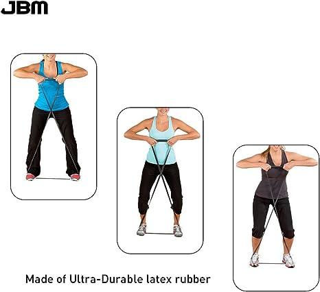 Bande Elastique dexercice Traction Dips Crossfit Boxe Pilates Fitness Calisthenics Femme Homme Sangle de R/ésistance en Boucle pour Renforcement Musculaire Aide Pull-Up Livre dentrainement