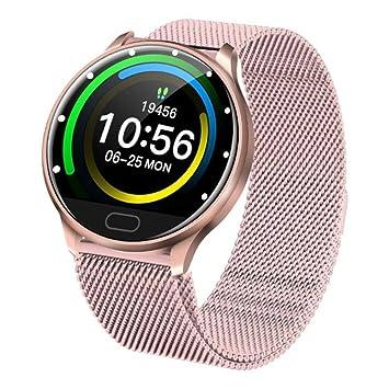 FXMINLHY Bluetooth Smart Watch Pantalla táctil IP67 Rastreador de ...