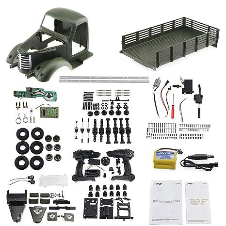 Ensamblar el juguete Juguete de control remoto de bricolaje Accesorios para automóviles de juguete Montaje manual