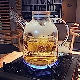 PLLP Creative Coffee Cup Set Glass Tea Set Upscale Simple Coffee Set Afternoon Tea Tea Set Household Cup Waterware,B