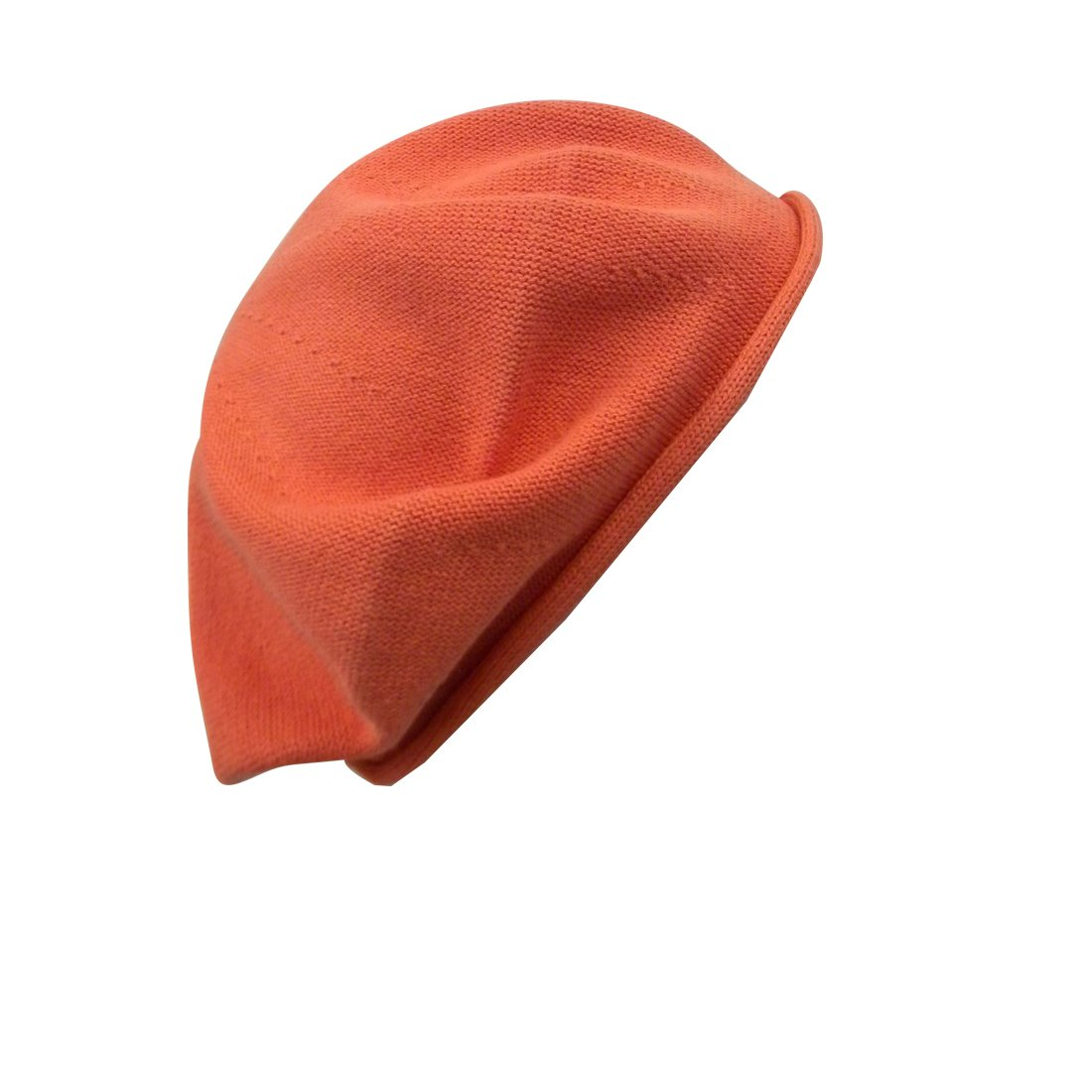 Landana Headscarves Beret for Women 100% Cotton Solid ldbt-cotton-AquaRegular