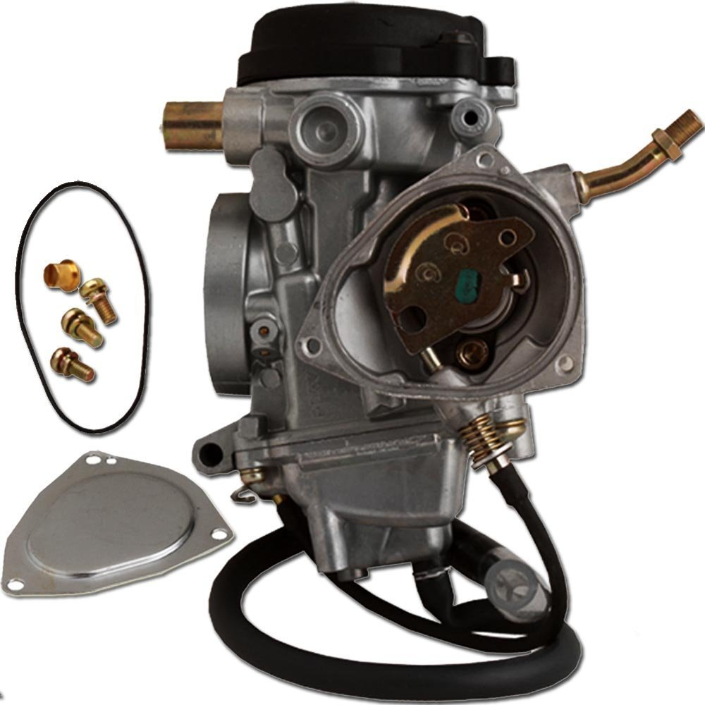 ZOOM ZOOM PARTS Carburetor FOR Yamaha Kodiak 400 YFM 400 YFM400 2000 2001 2002 2003 2004 2005 2006 ATV FREE FEDEX 2 DAY SHIPPING FREE FUEL FILTER AND STICKER by Zoom