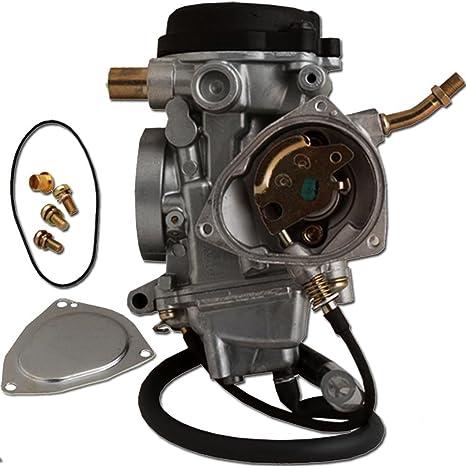 Amazon Zoom Zoom Parts Carburetor For Yamaha Kodiak 400 Yfm 400