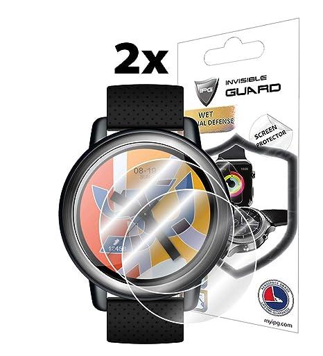 Amazon.com: IPG for Lemfo LEM8 Smartwatch Screen Protector ...