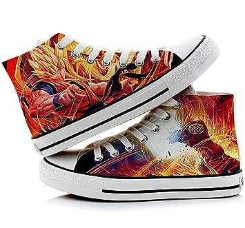 8b613e16c677 Telacos Dragon Ball Z Son Goku Vegeta Cosplay Shoes Canvas Shoes Sneakers 4  Choices