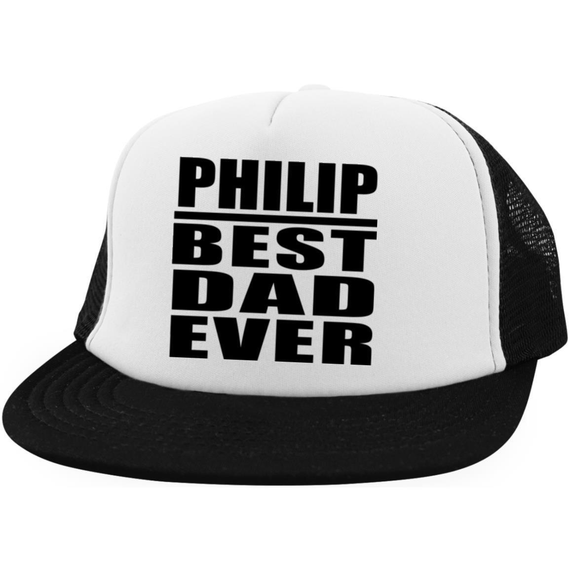 Designsify Philip Best Dad Ever - Trucker Hat Visera, Gorra de ...